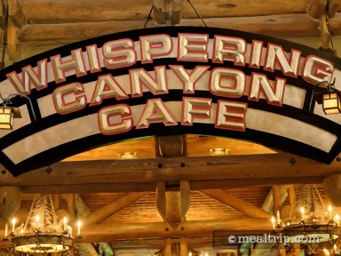Whispering Canyon Café Lunch