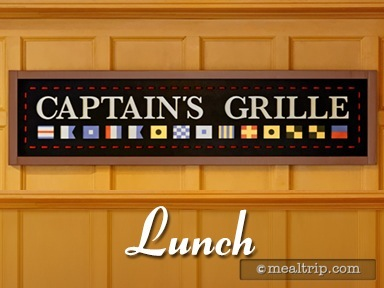 Captain's Grille Lunch