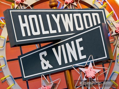 Hollywood & Vine - Character Lunch Buffet